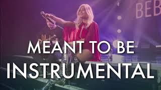 Bebe Rexha & Florida Georgia Line - Meant To Be (Instrumental) Video
