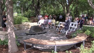 Tanenbaum Reflection Garden Dedication