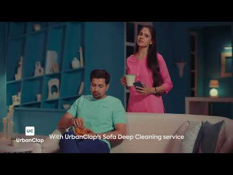 Urbanclap Sofa cleaning 60% offer