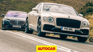 2021 Mercedes-Benz S-Class vs Bentley Flying Spur review | The world's best luxury saloon? | Autocar