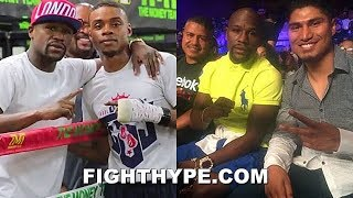 "MAYWEATHER'S FIRST IMPRESSION OF ERROL SPENCE & MIKEY GARCIA: ""REMINDS ME OF ME...QUIET ASSASSIN"""