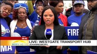 DA Westgate march starts - Chriselda Lewis updates