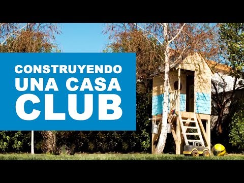 C mo construir una casa club youtube - Construir en madera ...