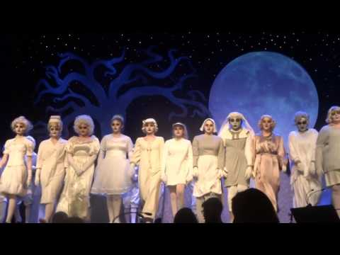Addams Family - The final bows - performed by the Irondequoit High School