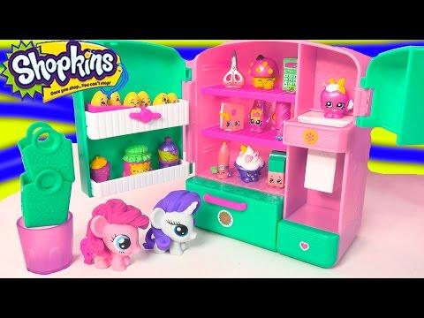 Shopkins Season 3 Metallic So Cool Fridge Refrigerator Toy ...
