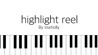 Video highlight reel // bts // piano tutorial download MP3, 3GP, MP4, WEBM, AVI, FLV Mei 2018