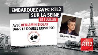 """Benjamin Biolay interprète """"Comment est ta peine"""" en live dans Le Double Expresso  (03/07/20)"""