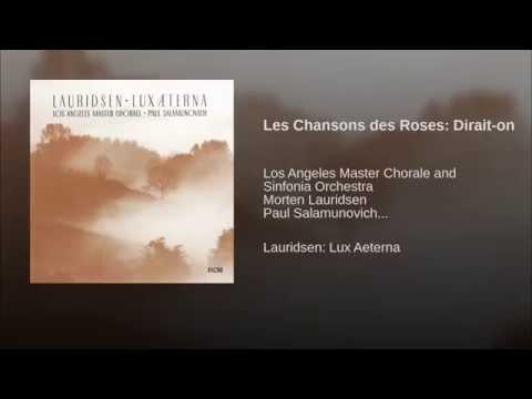 Les Chansons des Roses: Dirait-on