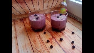 Вкусный рецепт.Фото рецепт.Творожный десерт +смородина.Правильное питание, Полезно и Вкусно