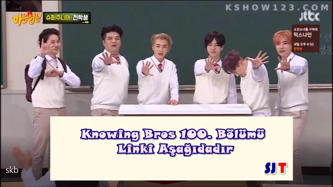 Knowing Bros Super Junior Bölümü - Türkçe Altyazılı