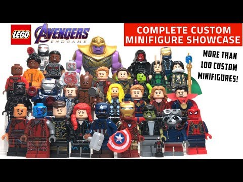 LEGO Avengers: ENDGAME Custom Minifigure Collection (Every Single Character From The Movie!)