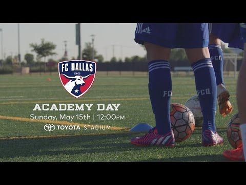 Support FC Dallas Academy Day 2016