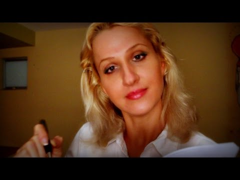 The ASMR SLEEP DOCTOR role play: Ear whispering, exam, page turning & meditation