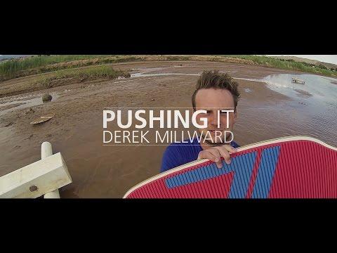 Seventyone - Derek Millward part from Pushing It - Skimboarding Movie
