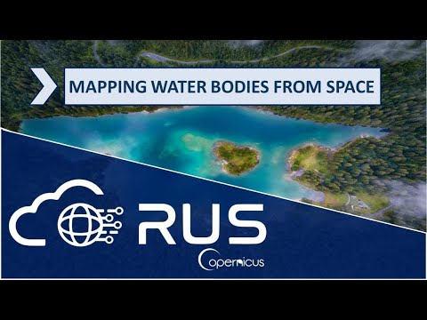 RUS Webinar: Mapping waterbodies from space - HYDR01