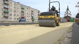 В Кузнецке благоустроят три сквера и дворовую территорию. Апрель 2021 год.