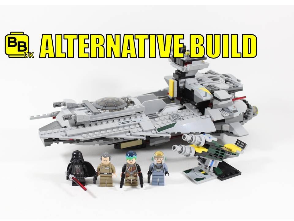 LEGO STAR WARS 75150 ALTERNATIVE BUILD VADER'S LIGHT STAR DESTROYER ...