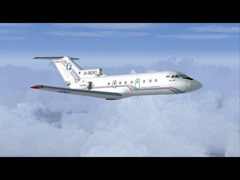 Microsoft Flight Simulator X - ЯК-40 Краснодар-Сочи
