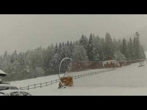 La neve al Passo della Presolana