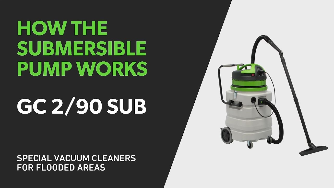Vacuum Cleaners: how the sumersible pump works