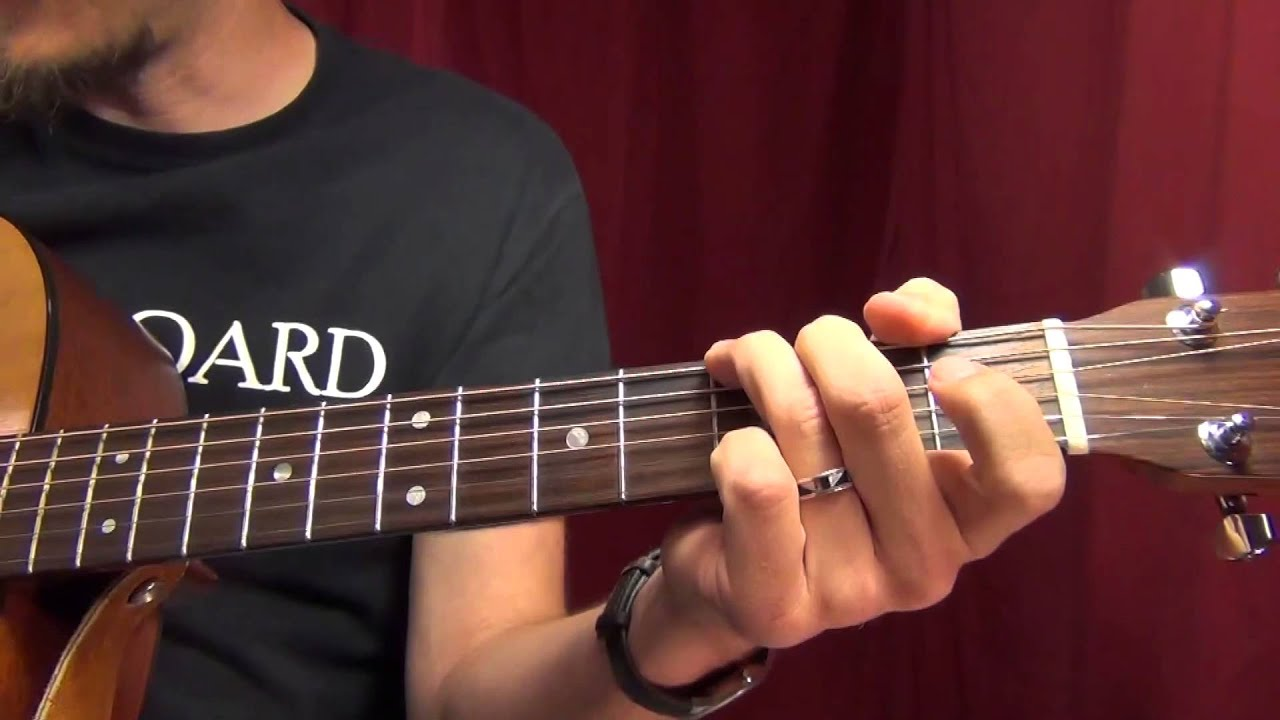 Some C Major Chord Progressions For Guitar Youtube