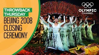Full Closing Ceremony from Beijing 2008 | Throwback Thursday