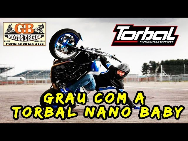 GB MOTOS TORBAL - DANDO UM GRAU COM A TORBAL NANO BABY