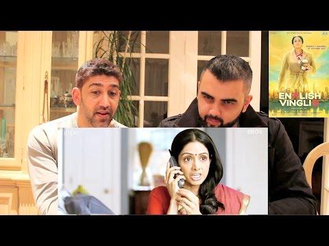English Vinglish  Reaction!  Sridevi, Mehdi Nebbou, Priya Anand