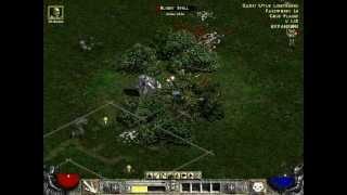 Diablo 2 - Necromancer Gameplay - Part 1 - Act 1