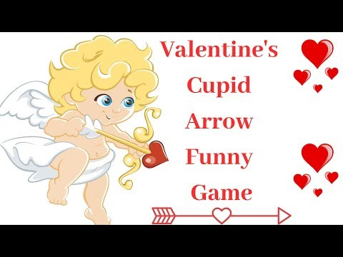 2019 Valentine's Day Cupid💘Arrow Kitty Fun Game|Instant Funny Minute Game|Prachi Game Ideas