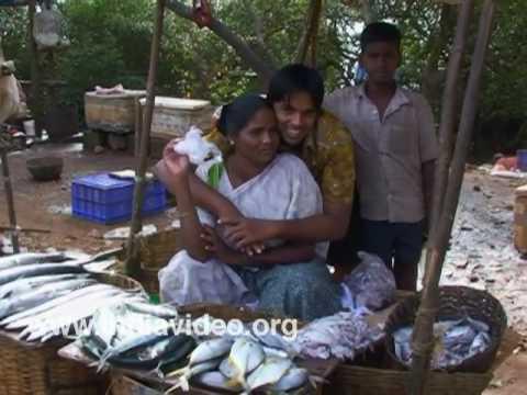 Goan fish market