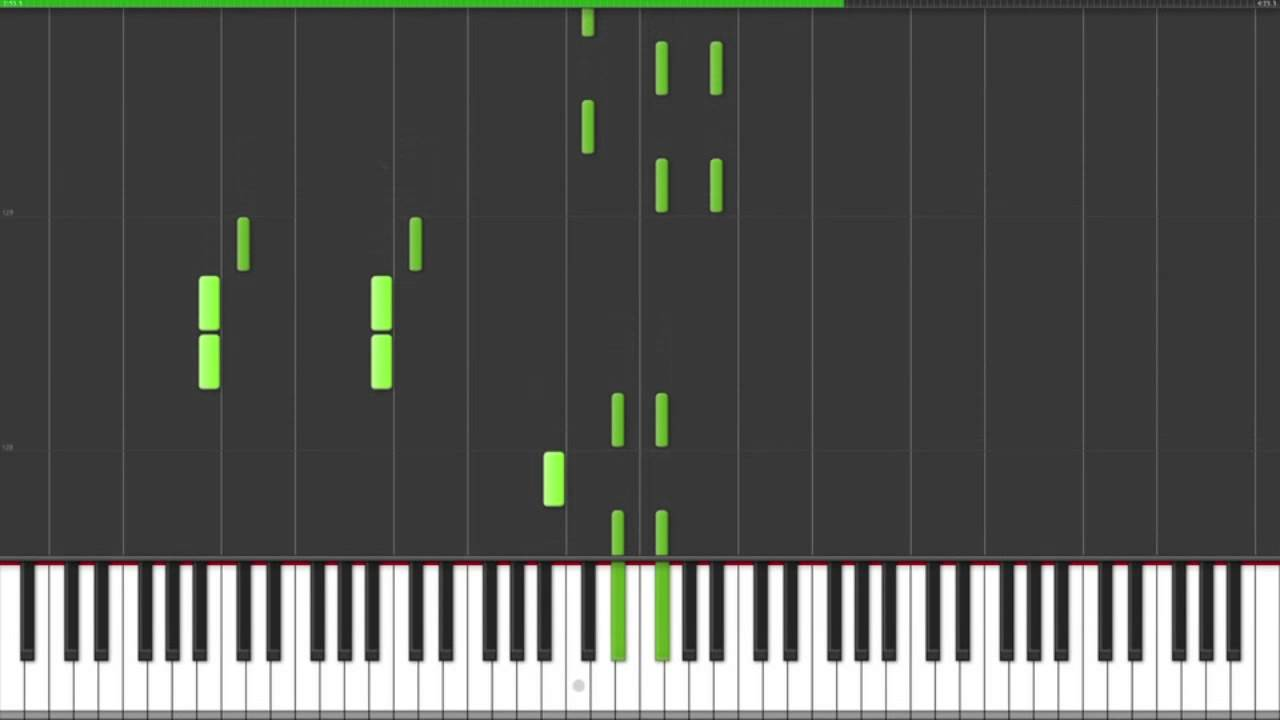 Leona Lewis Better In Time Piano Tutorial (Synthesia)