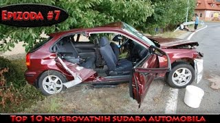 Top 10 Car Crashes  (11.1. 2016) (Ep #7)