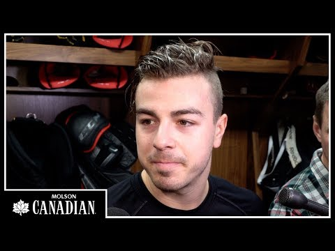 Jan 25: Sens vs. Bruins - Jean-Gabriel Pageau Pregame