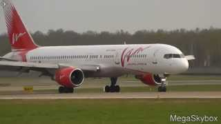 VIM Airlines RA-73014 Boeing 757-230 landing at  Domodedovo - Moscow - (UUDD / DME)