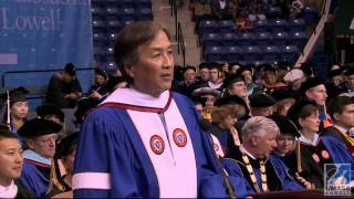 UMass Lowell Afternoon Commencement 2014, Speaker: Howard Koh (1:56:54)