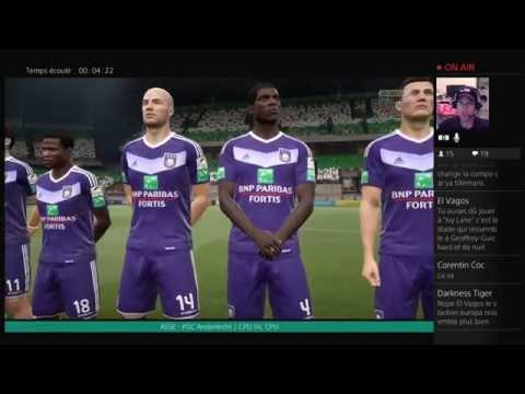 Saint-Étienne - Anderlecht [FIFA 17] | UEFA Europa League | CPU Vs. CPU