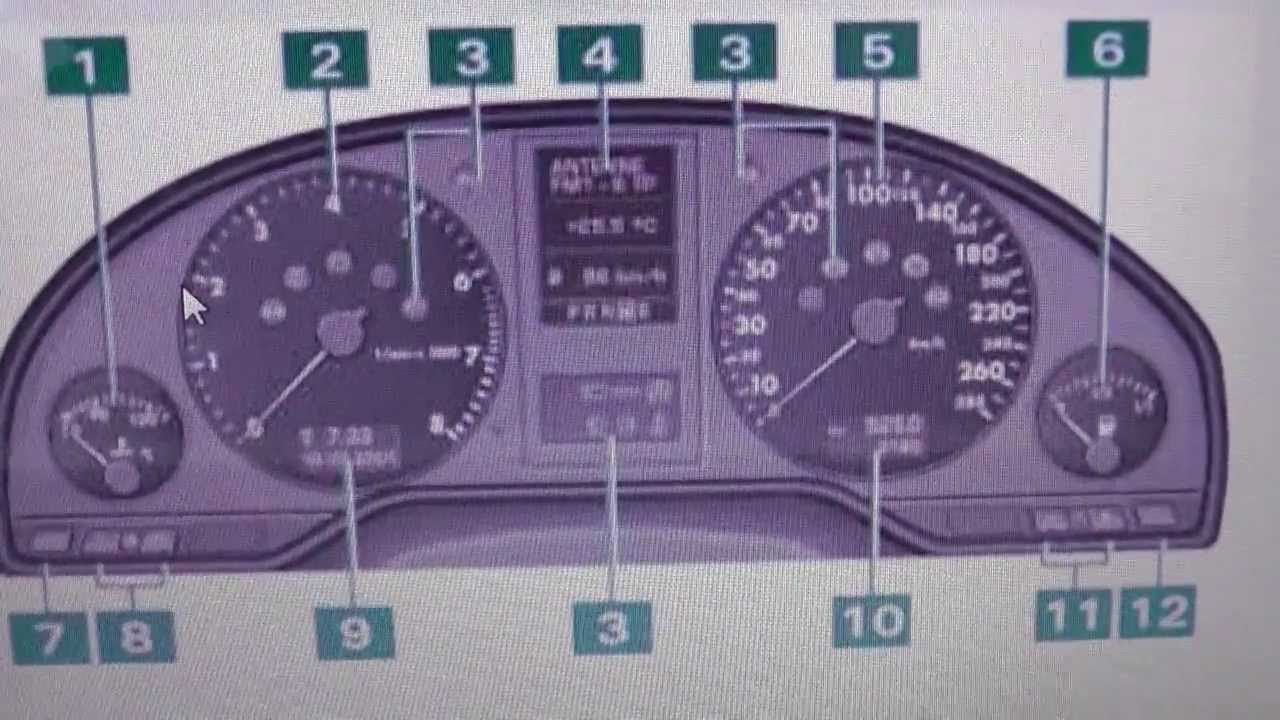 Audi A8 D2 Dash Warning Light Symbol Lamps What They Mean Youtube