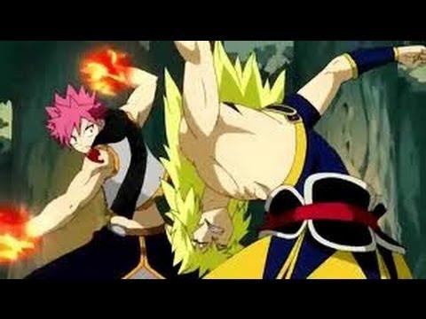 Fairy Tail Natsu vs Zancrow Full Fight English Subbed HD