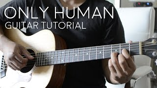 Gambar cover Only Human by Jonas Brothers - Guitar Tutorial