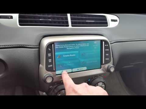 Adding iGO Navigation + Backup Camera To A 2014 Chevrolet Camaro