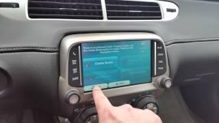 adding igo navigation backup camera to a 2014 chevrolet camaro