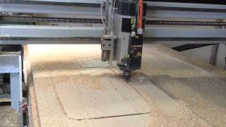Sink Cutout Wood Countertop Cnc