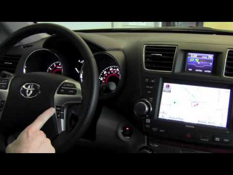 2012 | Toyota | Highlander | Multi-Information Display | How To By Toyota City Minneapolis MN
