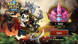 Magic Rush: Heroes Gameplay IOS / Android screenshot 2