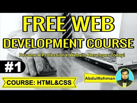 HTML and CSS Tutorial in Urdu/Hindi Part 1 by Abdul Rehman thumbnail