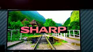 unboxing review LED SHARP 40