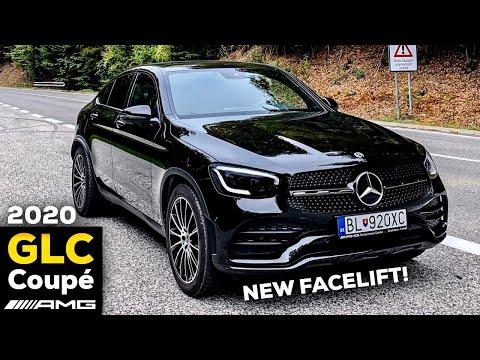 2020 MERCEDES GLC Coupé New FACELIFT DRIVING Review GLC 300d AMG DISTRONIC Test!