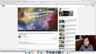 #3 Мега урок |Как создать и оформить свой канал на YouTube |Имя канала 2015 HD