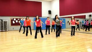 Down To The Wire - Line Dance (Dance & Teach in English & 中文)